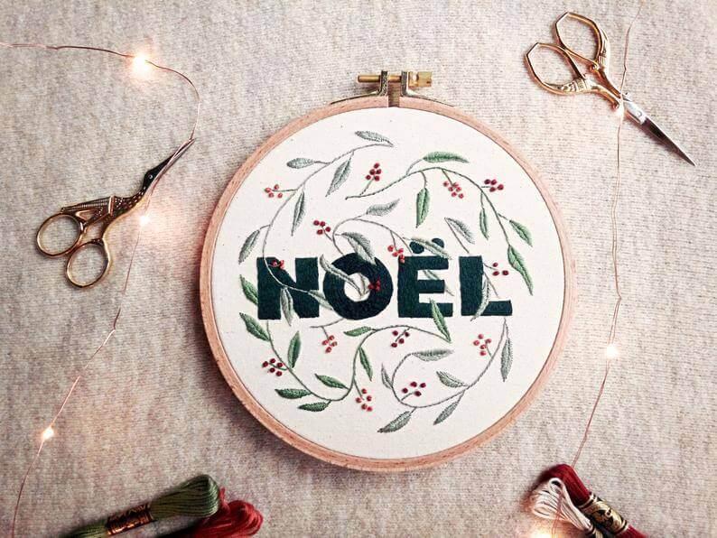 noel kerst etsy 1 - 25 moderne borduurpatronen voor kerst 2021 (+ gratis patronen!)