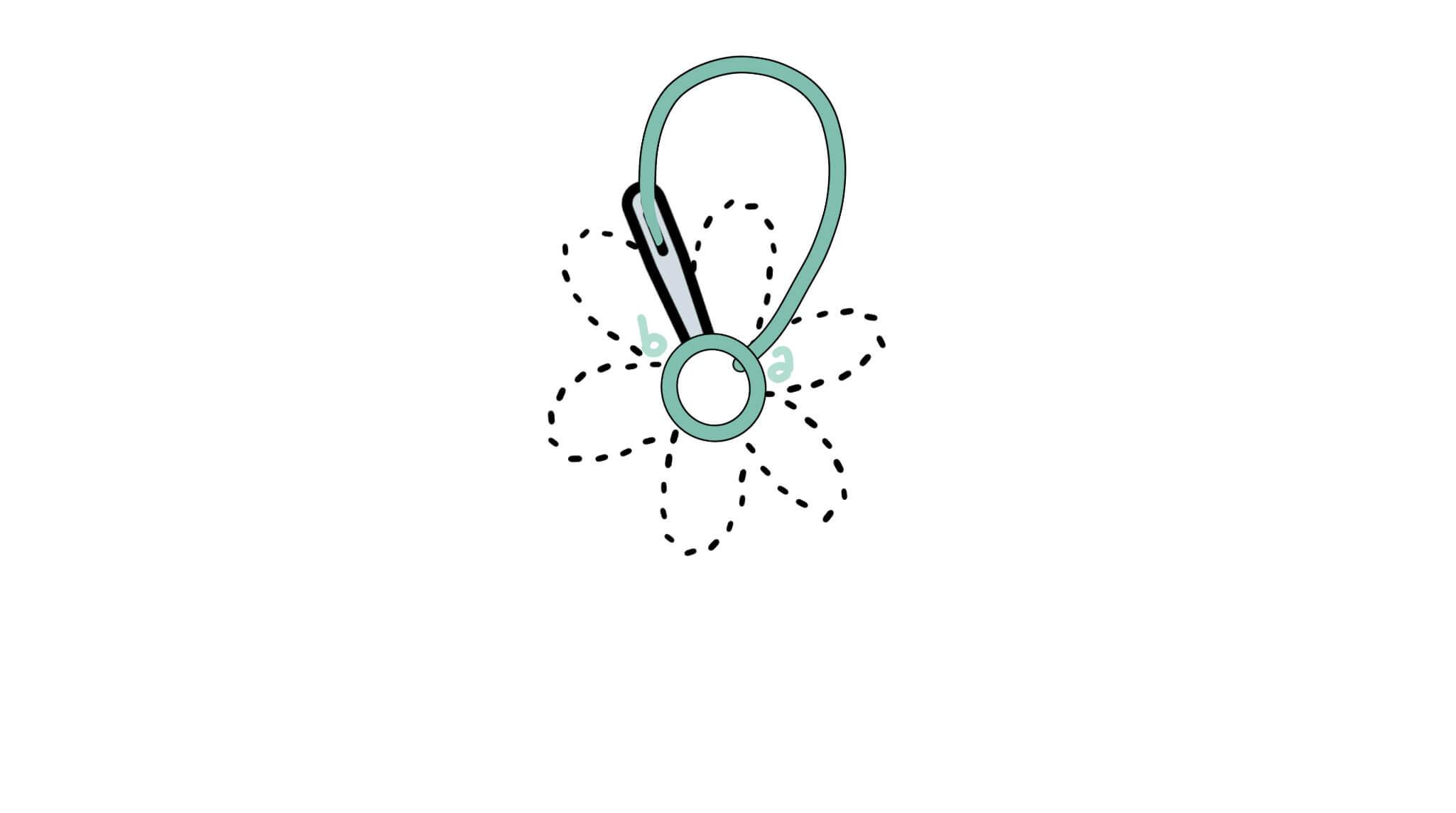 3 6 - Lazy daisy stitch