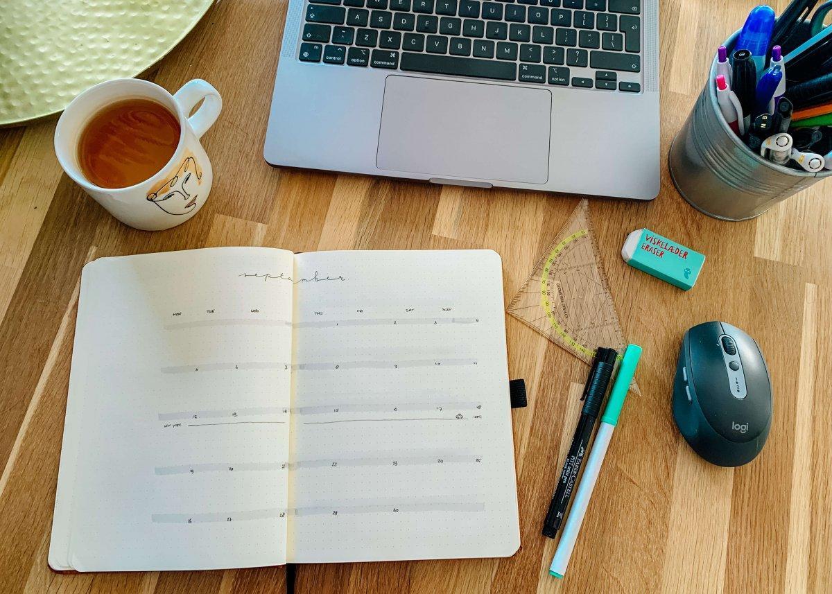 De stap-voor-stap gids voor de set-up van een nieuwe journal (+ lay-out inspiratie)
